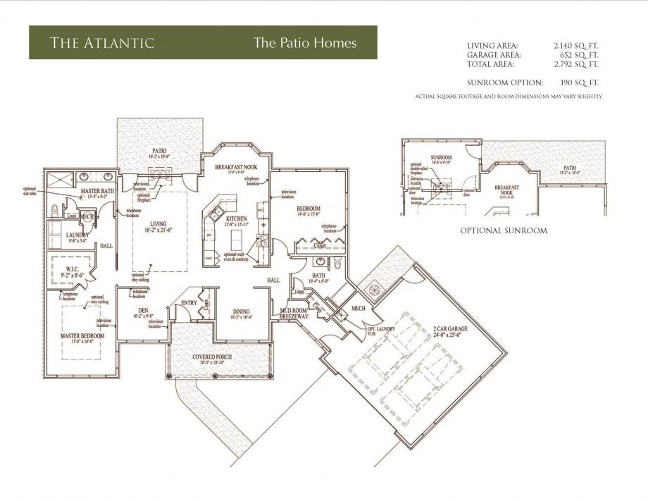 Atlantic Floor Plan