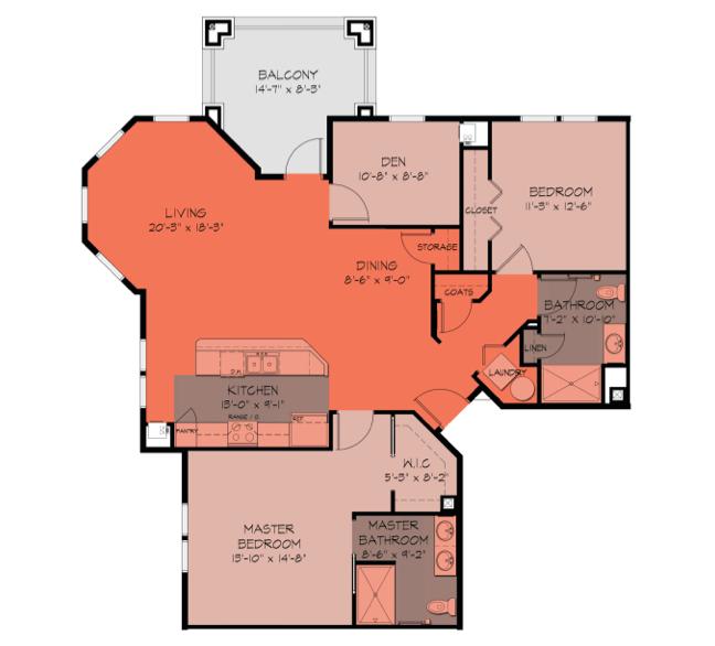 Allegheny Floorplan