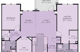 Appalachian floor plan