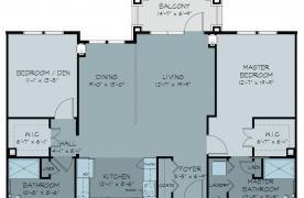 Catoctin floor plan