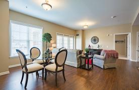 Appalachian floorplan living/dining room