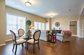 Appalachian floorplan living/dining room