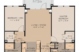 Sugarloaf floor plan