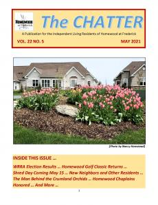 Independent Living May Chatter Newsletter